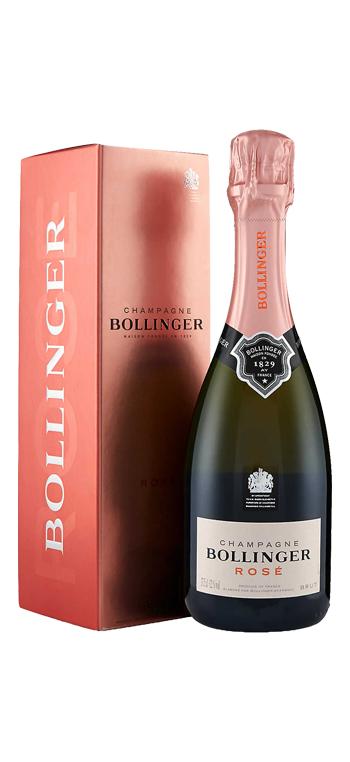 Champagne Bollinger Rosé con Estuche 37,5CL