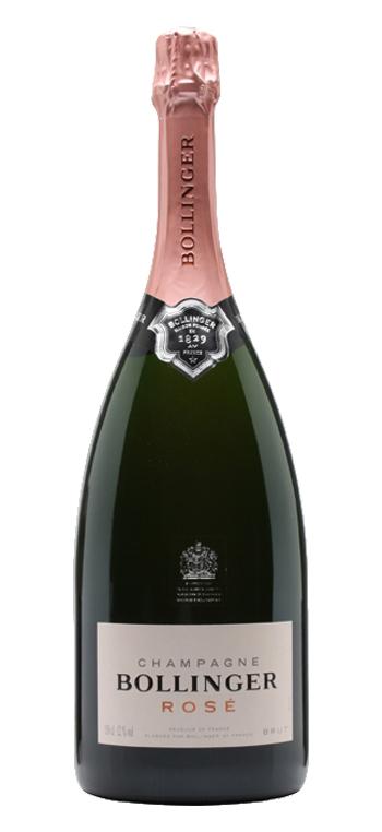 Champagne Bollinger Rosé Magnum Sin Estuche