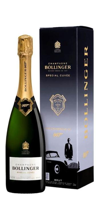 Champagne Bollinger Special Cuvée 007 Edición Limitada con estuche