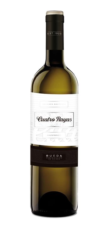 Vino Blanco Cuatro Rayas Sauvignon