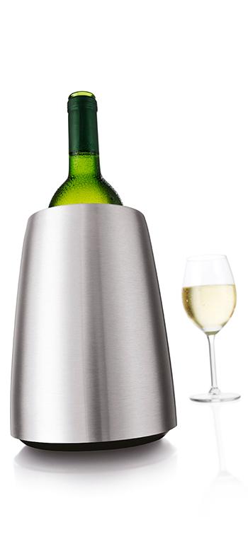 Cubitera de Vino Elegant en Acero Inoxidable