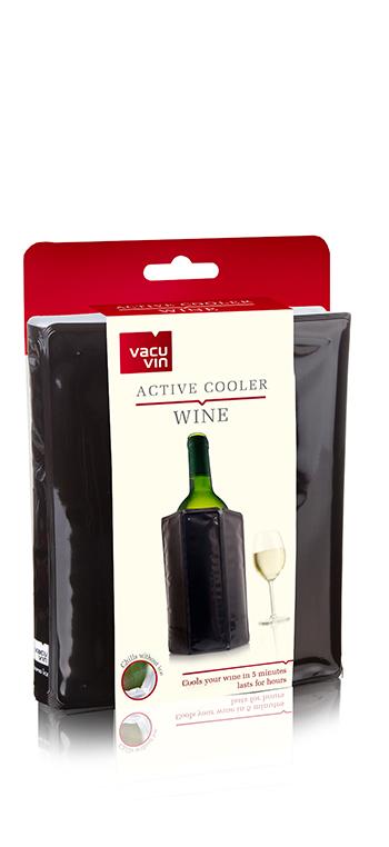 Enfriador de Vino Negro