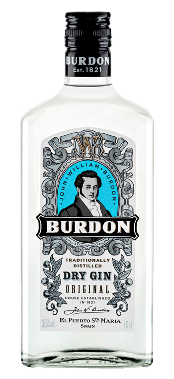 Ginebra Burdon Original Dry Gin