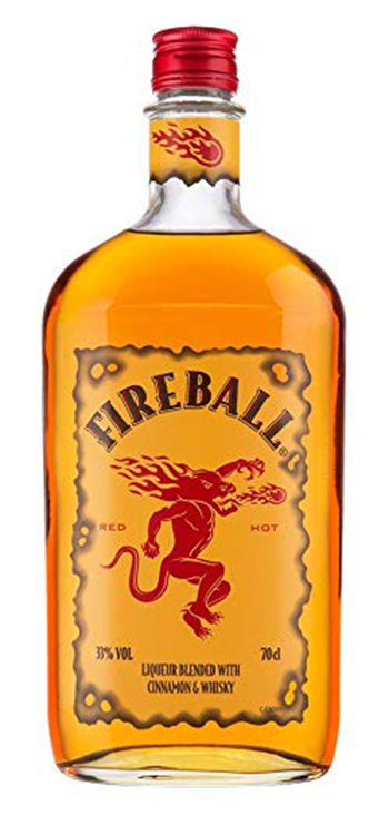 Licor Fireball Miniatura 5cl