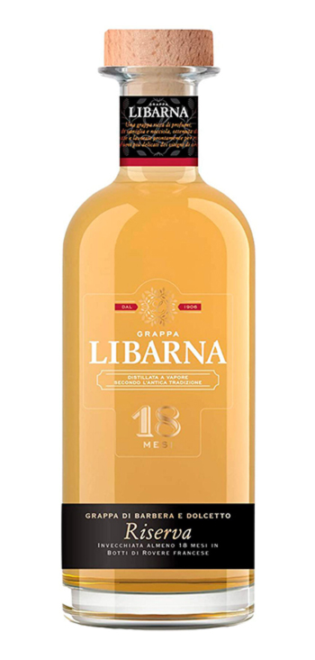 Licor Grappa Libarna