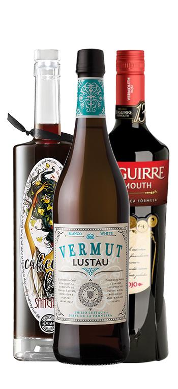 Pack 2 Vermuts + 1 Sangria