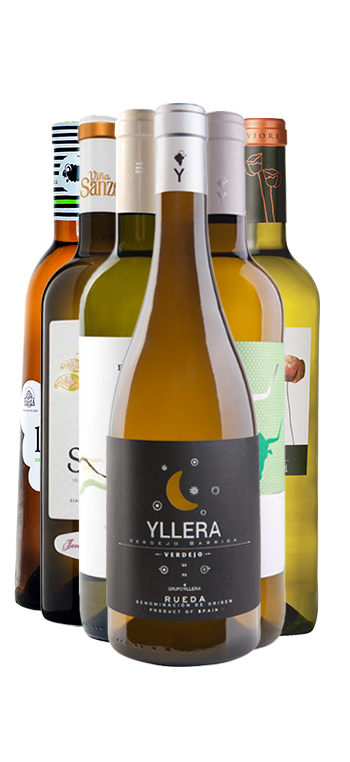Pack de 6 botellas D.O Rueda