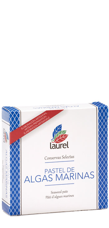 Pastel de Algas Marinas Laurel 150 gr