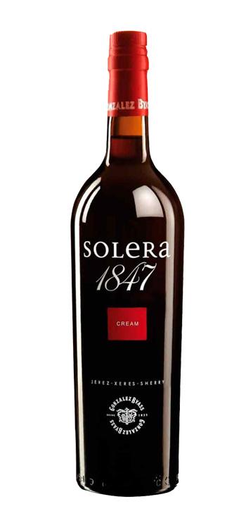 Vino Tinto Oloroso Dulce Solera 1847