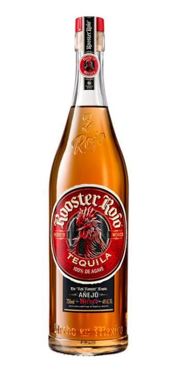 Tequila Rooster Rojo Añejo