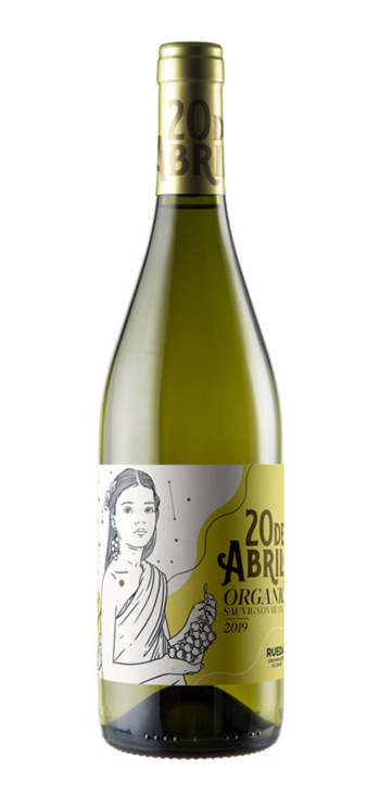 Vino Blanco 20 de Abril Sauvignon Blanc Ecológico - Vegano