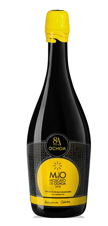 Vino Blanco 8A Moscato de Ochoa