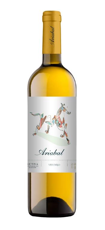 Vino Blanco Ariabal Verdejo