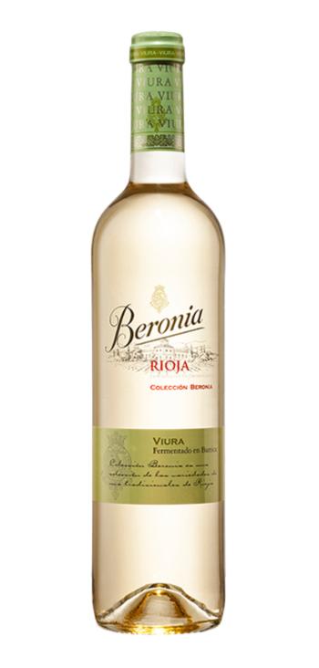 Vino Blanco Beronia Fermentado en Barrica