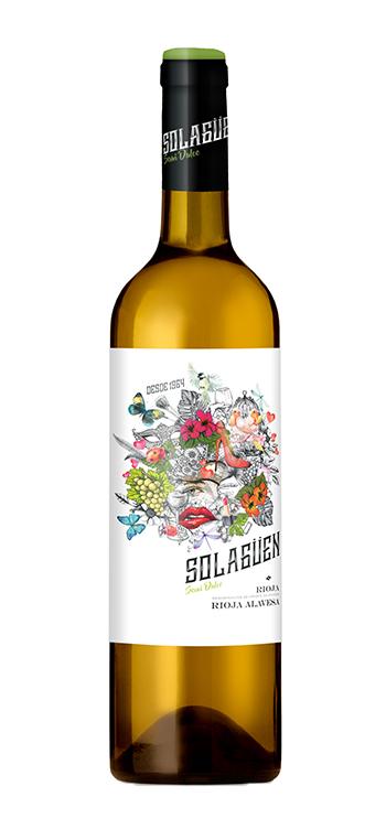Vino Blanco Semidulce de Solagüen