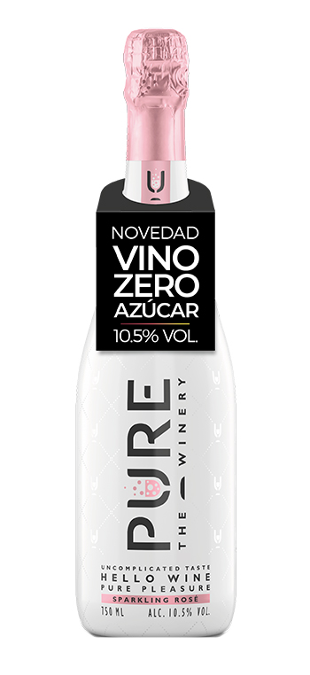 Vino Espumoso Rosado PURE The Winery