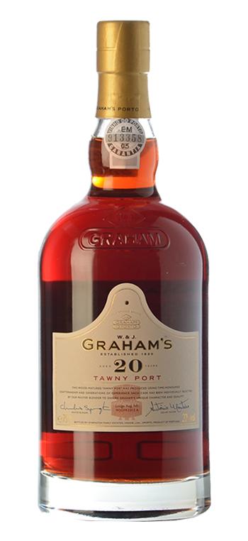 Vino Generoso Grahams Oporto 20 años 4,5L