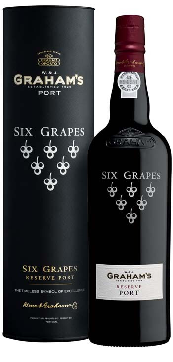Vino Generoso Oporto Graham's Six Grapes