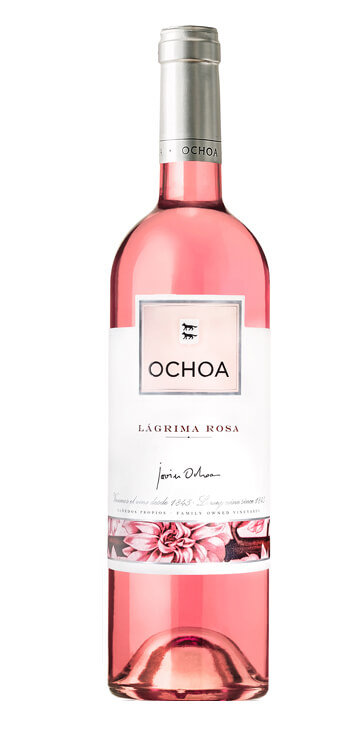 Vino Rosado de Lágrima Ochoa Vegano