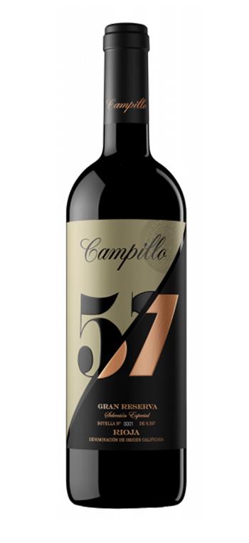 Vino Tinto Campillo 57 Gran Reserva