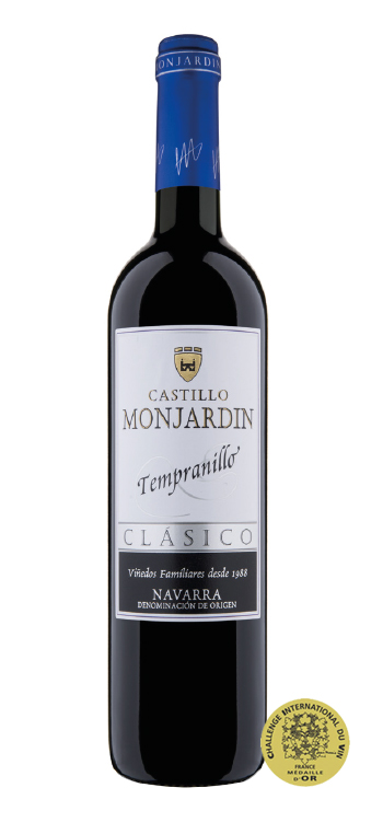 Vino Tinto Castillo de Monjardín Tempranillo
