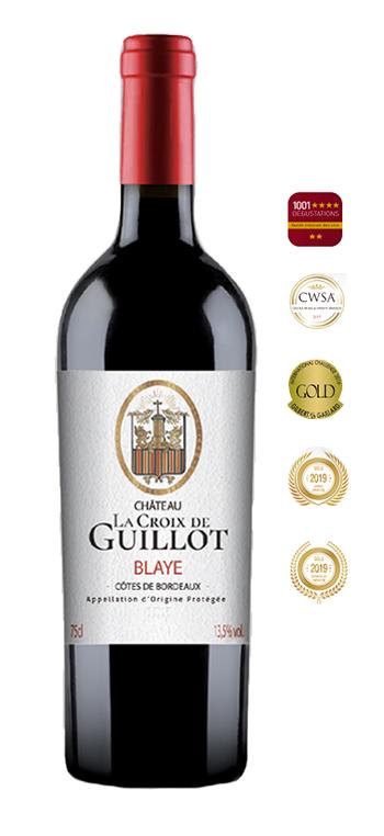 Vino Tinto Chateau Croix de Guillot AOC Blaye