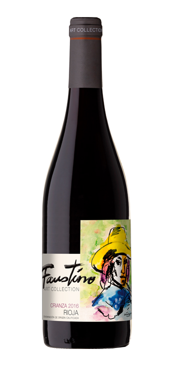 Vino Tinto Faustino Art Collection Crianza