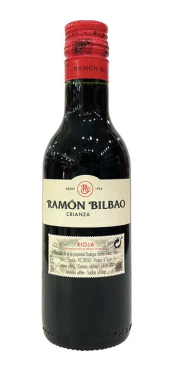 Vino Tinto Ramón Bilbao Crianza  (0,187L)