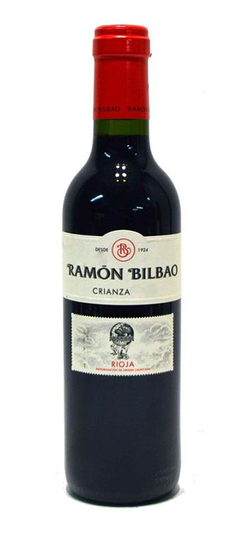 Vino Tinto Ramón Bilbao Crianza 37.5cl