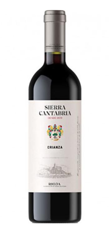 Vino Tinto Sierra Cantabria Crianza