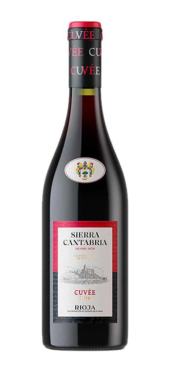Vino Tinto Sierra Cantabria Cuvee