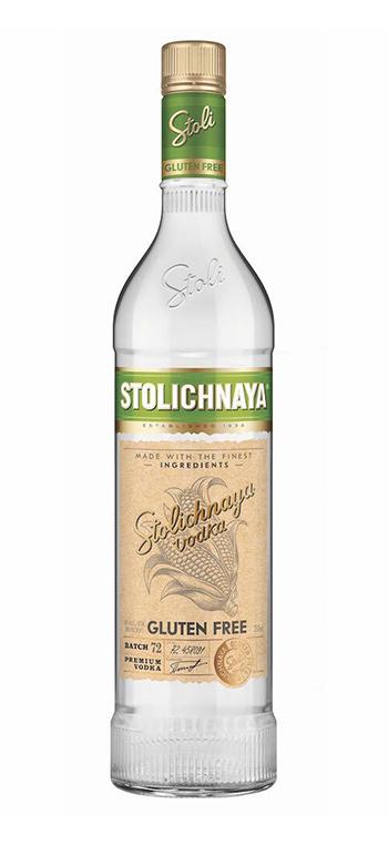 Vodka Stolichnaya Gluten Free
