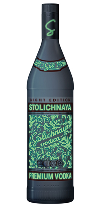 Vodka Stolichnaya Elit Night Edition 1,75L