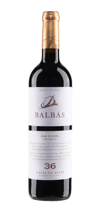 Vino Tinto Balbás Gran Reserva