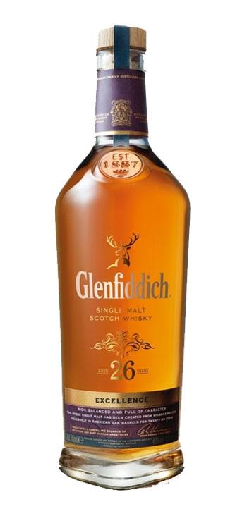 Whisky Glenfiddich 26 años