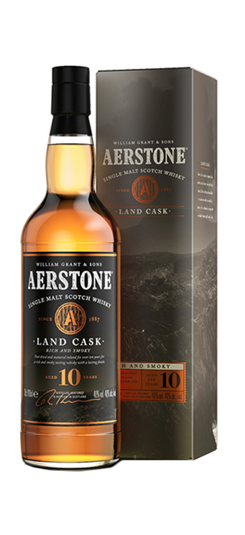Whisky Aerstone Land Cask 10 Años