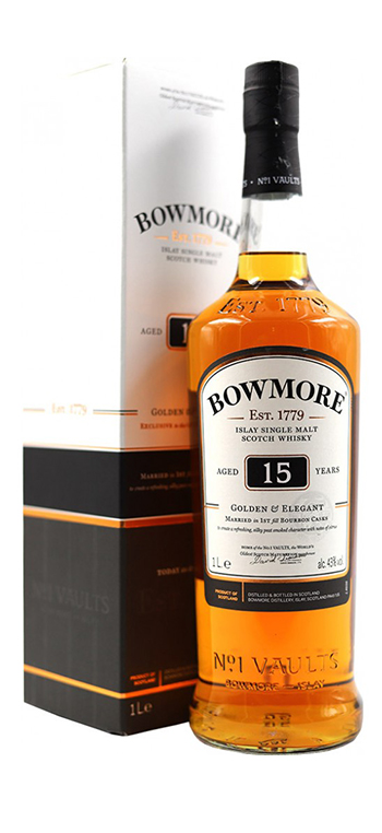 Whisky Bowmore 15 Años Darkest