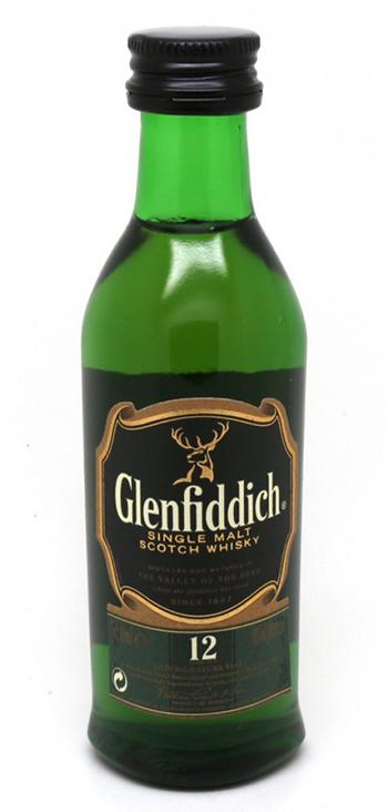 Whisky Glenfiddich de Malta Miniatura 5cl (Caja de 192 unidades)