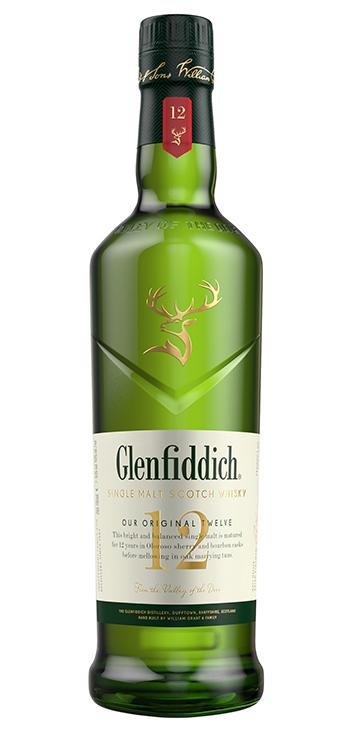 Whisky Glenfiddich de Malta 12 años 1L
