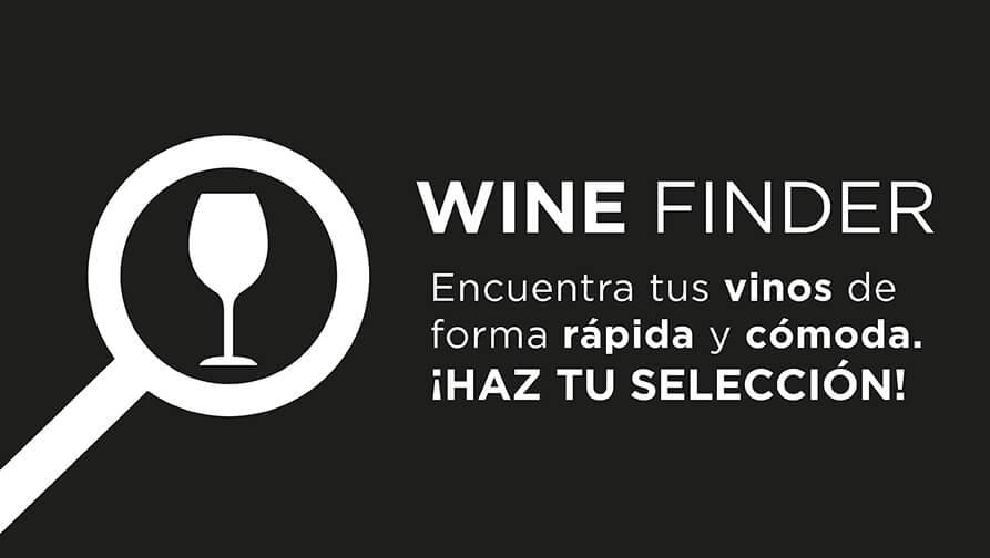 Wine Finder encuentra tus vinos en Vinopremier